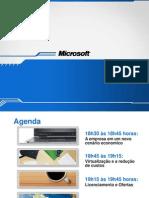 Microsoft Estacao Vendas - Apresentacao