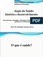 Aula 1 Psicologia da sau00FAde histu00F3ria desenvolvimento
