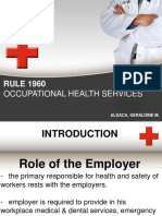 RULE 1960- OCCUPATIONAL HEALTH SERVICES - Copy