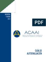 Guia de Autoevaluacion Formato de presentacion 2012