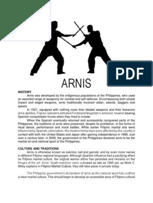 Arnis Philippines Combat Sports