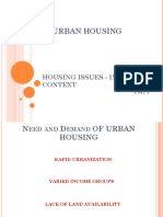 HOUSING ISSUES ‑ INDIAN CONTEXT 1