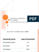 HOUSING ISSUES ‑ INDIAN CONTEXT 3.pptx