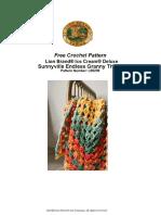 Sunnyville Endless Granny Throw (Crochet)
