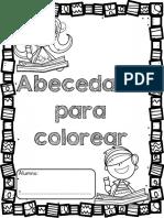 F.I. con el abecedario