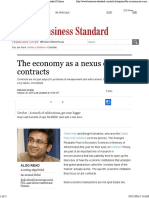 Maitreesh Ghatak The Economy as a Nexus of Contracts