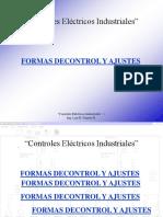 1 Control electricos industriales y Formas de Ajuste