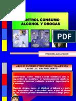 Control Consumo Alcohol y Drogas