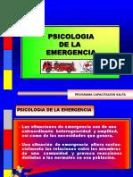 Psicología de la Emergencia ...ppt