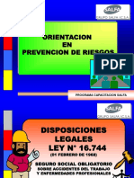 Orientación en Prevención de Riesgos.ppt