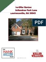 1170 McKendree Park Lane Buyer Review