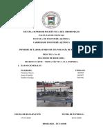 INFORME N 3 - DESTILACION - BEATERIO RIOBAMBA