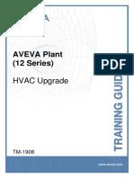 TM-1908 AVEVA Plant (12 Series) HVAC Upgrade Rev 2.0