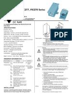 PX274 Manual