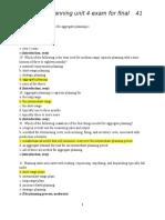 aggregate plan MCQ 41