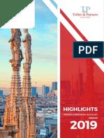 Highlights 2019 T&P ENG