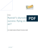 In Depth Analysis Ryanair Business Model Air Scoop Nov2010