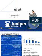 Voip Threats & Counter Measures