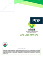 eSWIS User Manual WAC