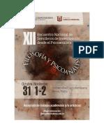 MEMORIAS XII ENCUENTRO NACIONAL DE SEMILLEROS DE INVESTIGACIÓN DESDE EL PSICOANALISIS.pdf
