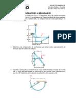 Guia Nro 6 - Equilibrio de Armazones y Máquinas 2D