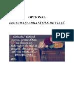 Optional 5 lectura si abilitatile  de viata