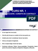 Curs proceduri de contractare