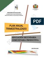 PLAN ANUAL TRIMESTRALIZADO SECUNDARIA 2020.pdf