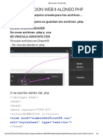 Programación Web | Materia de programación  PHP