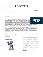 ROBOTICS paper presentation