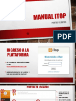MANUAL ITOP - portal clientes 2.0