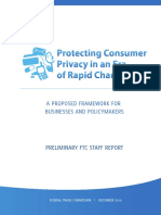 FTC Online Privacy Report