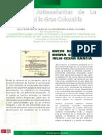 Julio Cesar García y la Universidad la  Gran Colombia.