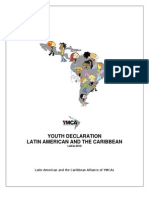Youth Declaration of Latin America and the Caribbean YMCAs Complete Version