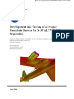 Development and Testing of a Drogue Parachute System for X-37 ALTV:B-52H Separation.pdf