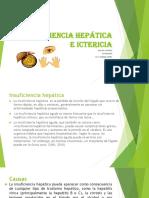 INSUFICIENCIA HEPÁTICA E ICTERICIA