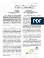 The Result Oriented Process for Students Based on Distributed Data Mining