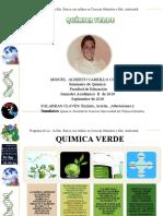 QUIMICA VERDE PRESENTACION