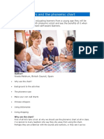 Young learners and the phonemic chart