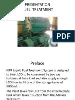 Fuel Treatment Plant Training PPT