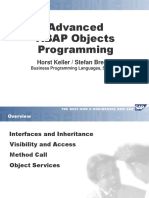 Object Oriented ABAP