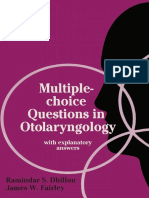 Ramindar S. Dhillon FRCS (Eng), James W. Fairley FRCS (Eng) (auth.) - Multiple-choice Questions in Otolaryngology_ With Explanatory Answers-Palgrave Macmillan UK (1989).pdf