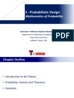 Chapter 2 - Mathematics of Probability