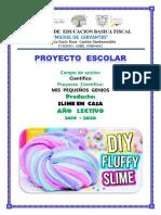 PROYECTO  slime   MIGUEL  DE  CERVANTES