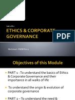Lec 1 & 2- ETHICS & CORPORATE GOVERNANCE (1)