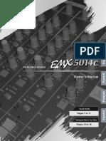 EMX5014C Owner's Manual Español