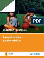 Acogimiento Familiar - Guia de Estandares para las Practicas RELAFF