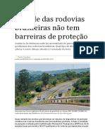 SITEMA DE PROTEÇAO RODOVIARIA