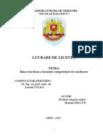 Baza teoretică a formării competenţei de conducere - CULDA.doc