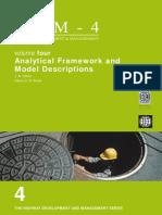 Analytical Framework and Model Descriptions